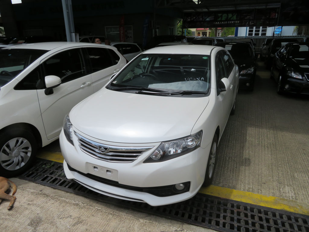 Toyota Allion 2011 car for sale in Myanmar.