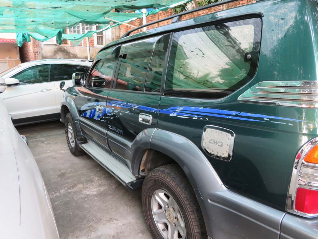 Toyota Land Cruiser PradoTX Limited 1996 , Used Car for sale in myanmar and price