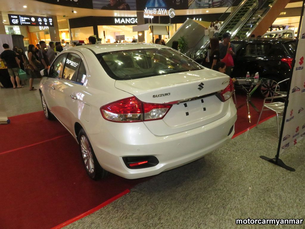 Suzuki CiazGLX 2018 , New Car for sale in myanmar market and price