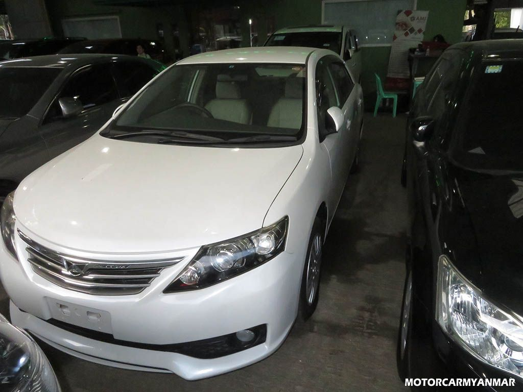 Toyota AllionG 2011 , Used Car for sale in myanmar market and price