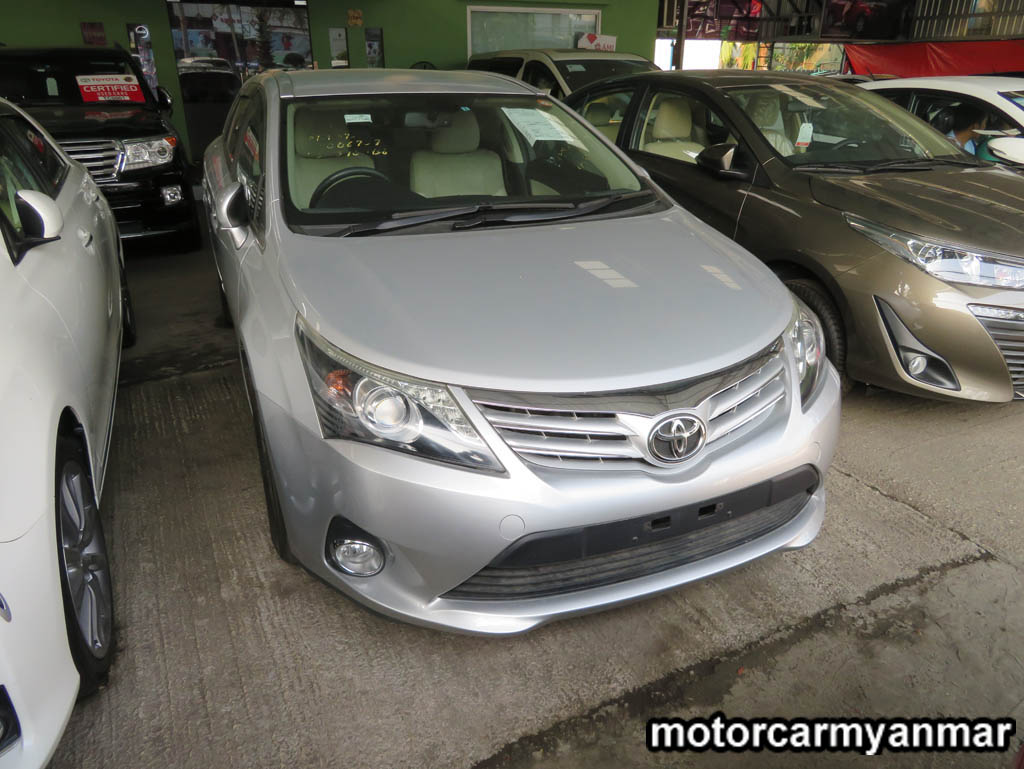 Toyota AvensisLI 2012 , Used Car for sale in myanmar market and price