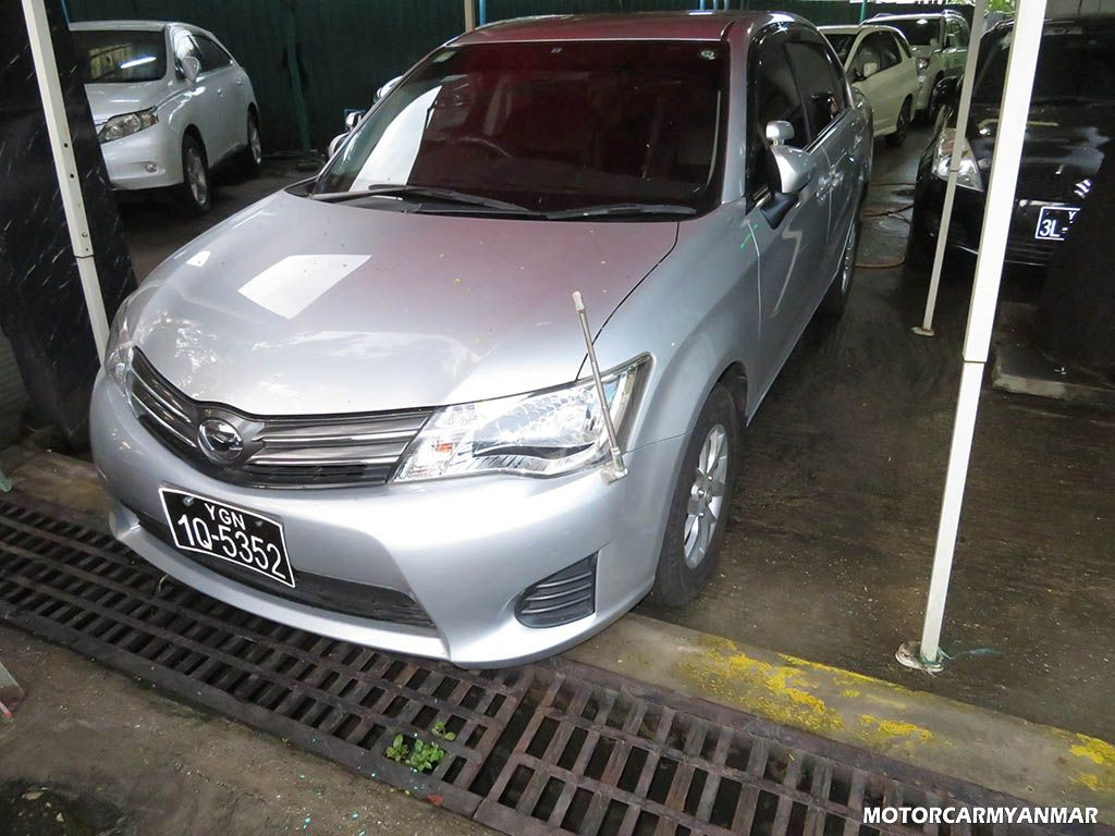 Toyota AxioX 2013 , Used Car for sale in myanmar and price