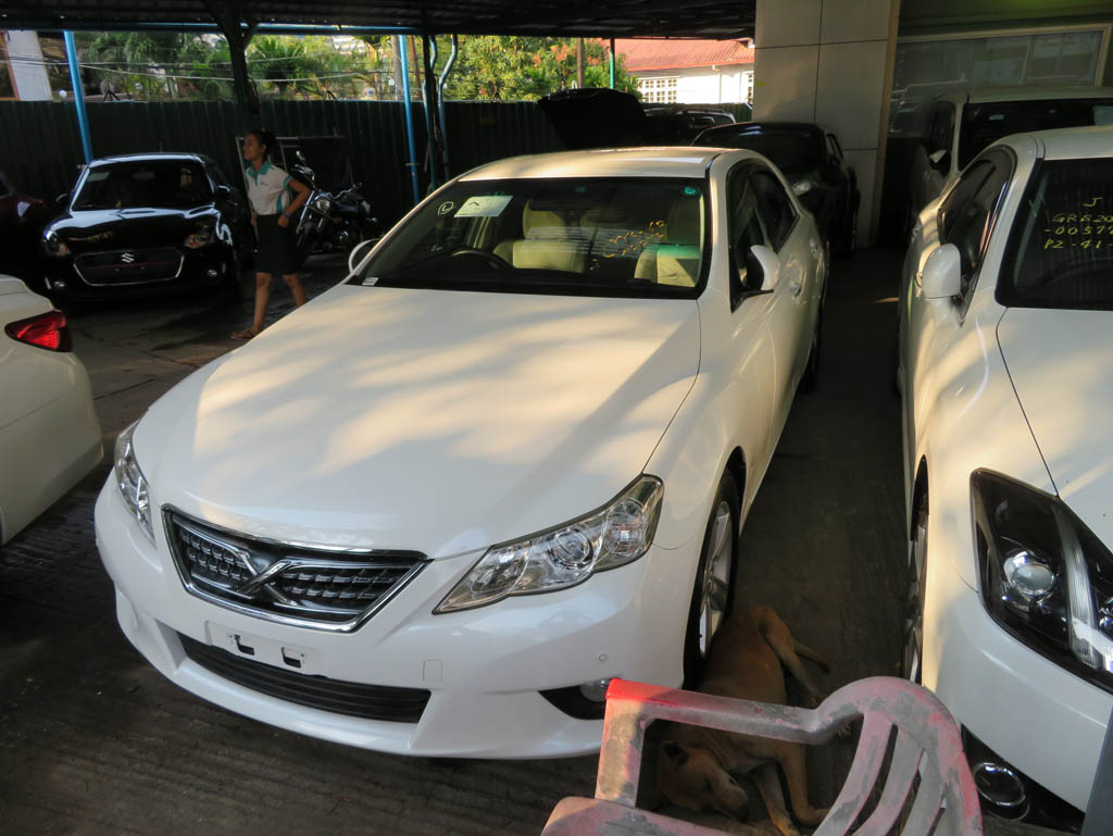 Toyota Mark X  2011 , Used Car for sale in myanmar market and price