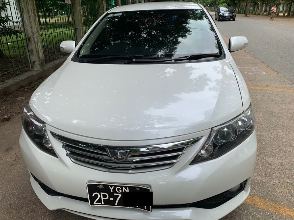 Toyota Allion 2011 Used Car for sale in myanmar and price