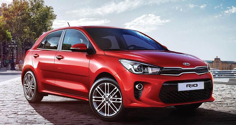 Kia rio  2019 , New Car for sale in myanmar market and price