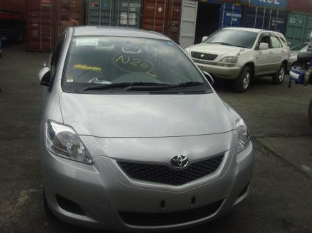 Toyota Belta 2010. car for sale in myanmar.