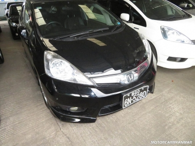 Honda Fit 2011. car for sale in myanmar.