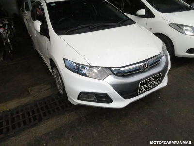 Buy Honda Insight 2012. motor car for sale in myanmar car market and price.