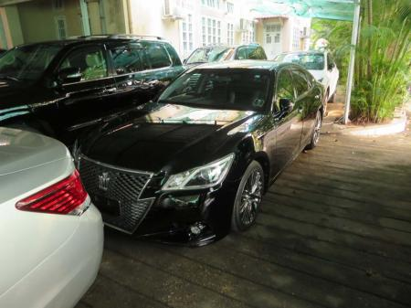 Toyota Crown Athlete Series 2013. car for sale in myanmar.