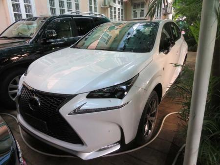 Lexus NX 2017. car for sale in myanmar.