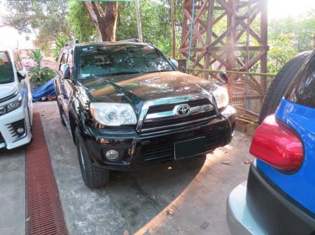 Toyota Hilux Surf 2006 used motor car for sale in Myanmar and price.