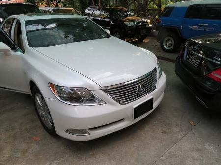Lexus LS 2007. car for sale in myanmar.