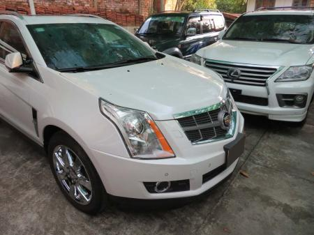 Cadillac SRX 2012. car for sale in myanmar.
