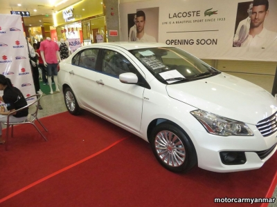 Suzuki Ciaz 2018. car for sale in myanmar.
