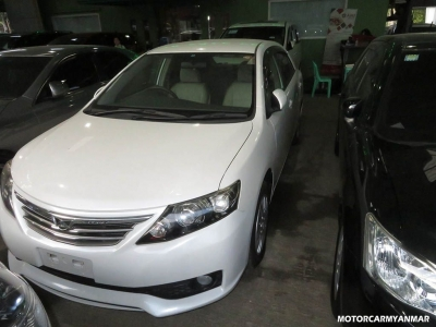 Toyota Allion 2011. car for sale in myanmar.