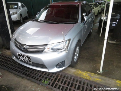 Buy Toyota Axio 2013. motor car for sale in myanmar car market and price.