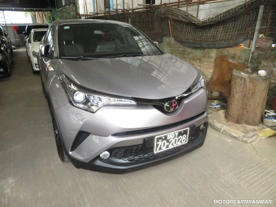 Toyota C-HR 2018. car for sale in myanmar.