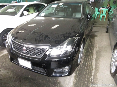 Buy Toyota Crown 2011. motor car for sale in myanmar car market and price.