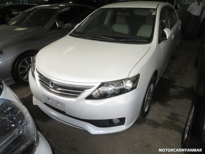 Toyota Fielder 2012. car for sale in myanmar.