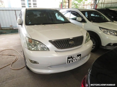 Toyota Harrier 2004. car for sale in myanmar.