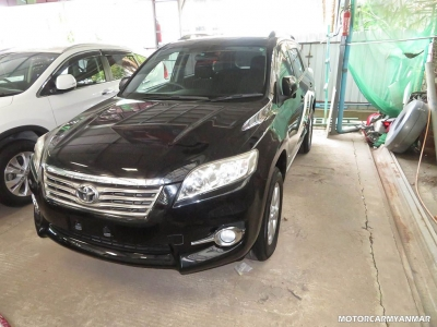 Toyota Vanguard 2011. car for sale in myanmar.