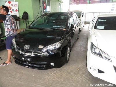 Toyota Wish 2011. car for sale in myanmar.
