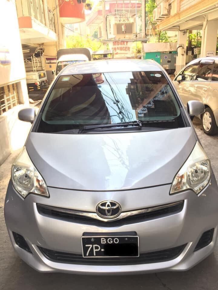 Toyota Ractis  2011 , Used Car for sale in myanmar market and price