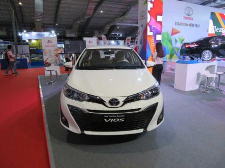 Toyota vios. Price $21,800. 1.3 Liter gasoline. Continuously Variable Transmission (CVT). Comes in 4