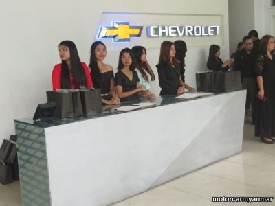 Cadillac CT6 Launch Event myanmar car