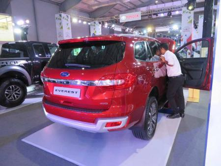 ford everest price usd 69 Yangon International Motor Show 2019