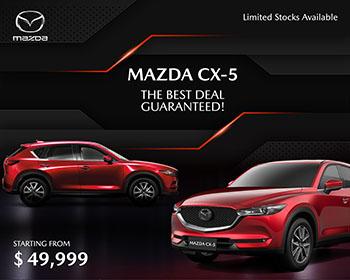 Mazda CX-5 ကတော့ Mid-Sized SUV ထဲမှာ အကောင်း ဆုံးအ�