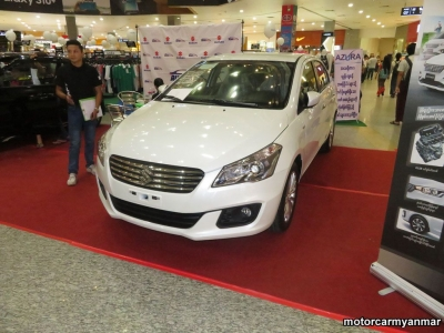 myanmar car event 18 30.j Suzuki Cars At Myanmar Plaza (7 June 2019)