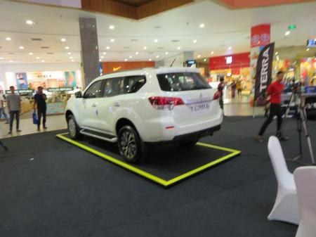 new nissan terra car launching 16 - 17 Feb Myanmar Plaza