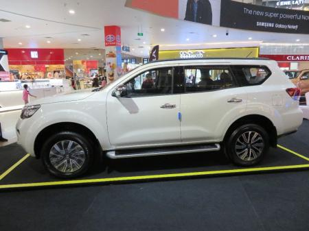 nissan terra launching 16 - 17 Feb Myanmar Plaza