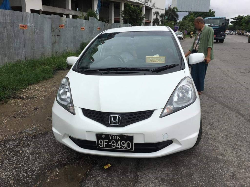 Honda Fit 2009 Used Car for rent in myanmar market and price