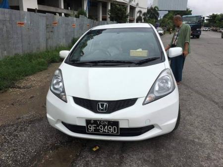 Honda Fit myanmar car market