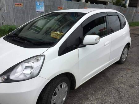 Honda Fit 2009 , Used Car 1.3 Liter Engine sale in myanmar market and price myanmar market and price